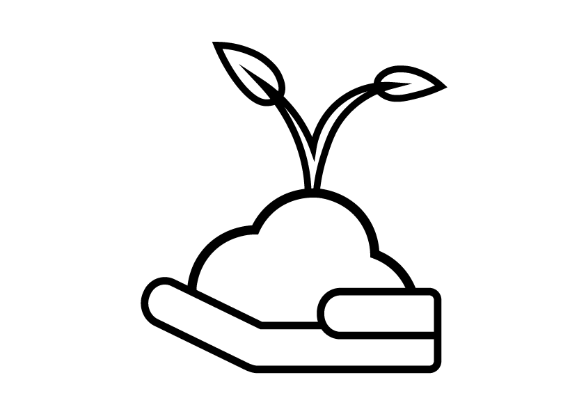 Svart-stroke-stor-plante